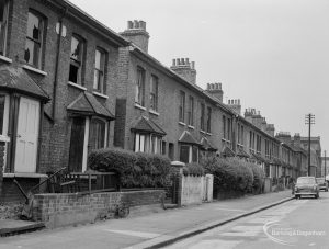 Houses in St Anne's Road, Barking, 1966
