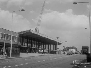 Railways, showing exterior of Barking Station from south-east, 1966