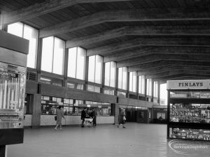 Railways, showing interior of Booking Hall at Barking Station, 1966