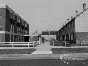 Pathway off Bastable Avenue, Thames View near Riverside Old People's Home for Senior Citizens, 1968