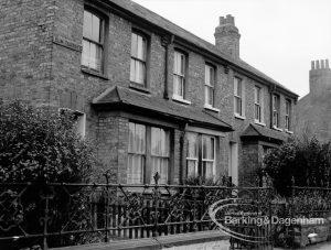 Housing development, showing terrace houses in Vicarage Road, Dagenham, 1969