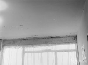 Public Health, showing effects of condensation at 161 Church Elm Lane, Dagenham, 1972