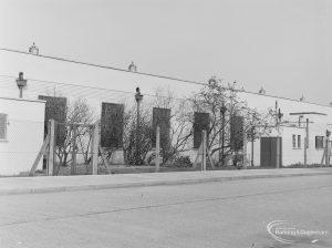 Factory [possibly Butterkist popcorn factory] in Blackborne Road, Dagenham, 1972