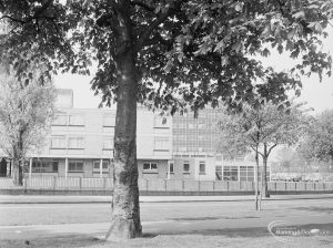 Nurses' accomodation in Barking Hospital, Upney Lane, Barking, 1972