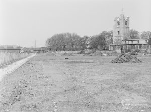 Old Barking landscaping, showing area from Broadway to Abbey Road, 1972