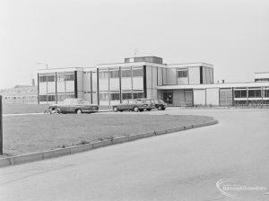 St Joseph's Roman Catholic Primary School, Barking, exterior from north-east, 1972