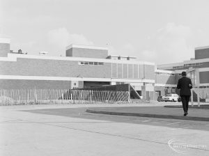 Southern end of new Barking supermarket on site of old market, 1972