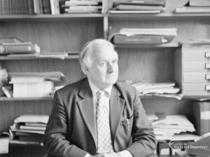 London Borough of Barking Branch Librarian and official photographer Mr Egbert Smart FLA, 1972