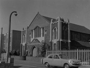 United Reform Church [formerly Congregational Church] in Mill Lane, Chadwell Heath, 1974