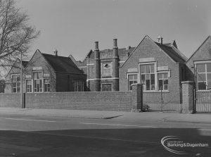 Ford's School, Church Elm Lane, Dagenham from south, 1974
