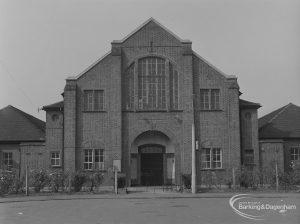 Osborne Square Church (Formerly Dagenham Evangelical Congregational Church), Osborne Square, Dagenham, 1974