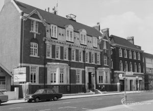 Barking Police Station, 1976