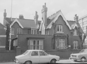 Ethelburga House, Linton Road, Barking [adjoining St Mary and St Ethelburga Roman Catholic Church], 1976