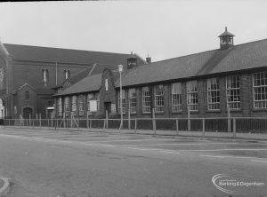St Peter's Roman Catholic Junior School, Goresbrook Road, Dagenham [possibly to be rebuilt], 1976
