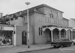 Dagenham Working Mens Club, Broad Street, Dagenham, 1976