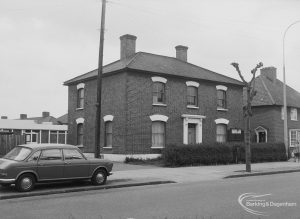 Pettits Farmhouse, 334 Heathway, Dagenham, used for Dockland Settlement, 1976
