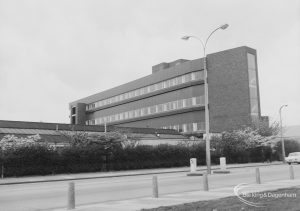 New factory building at Sterling Industrial Estate in Rainham Road South, Dagenham, 1976
