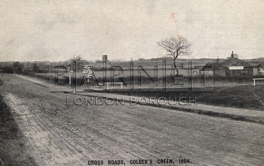 1900 Golders Green Cross Roads