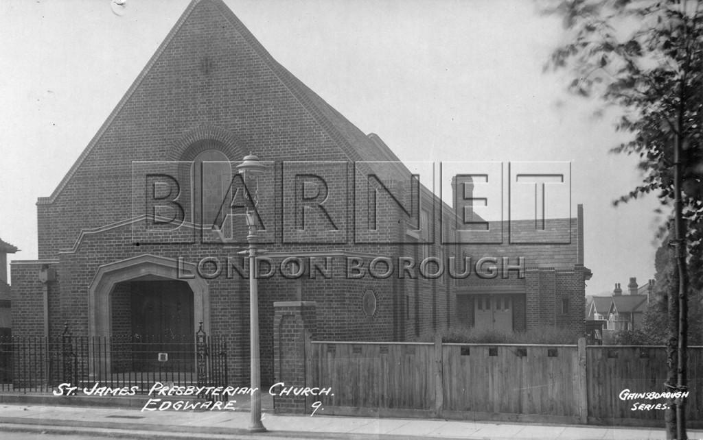 1930 St James Presbyterian Church