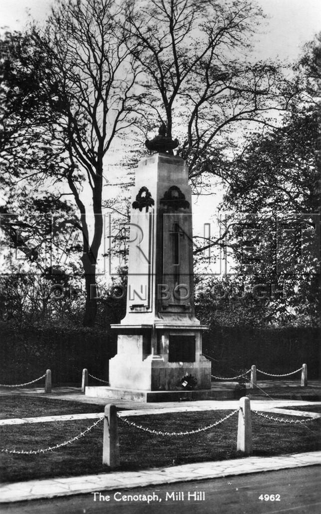 1920 Mill Hill War Memorial