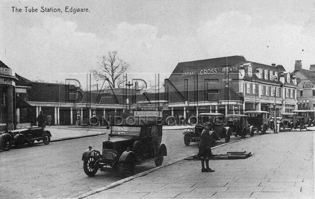 1930 Edgware Station