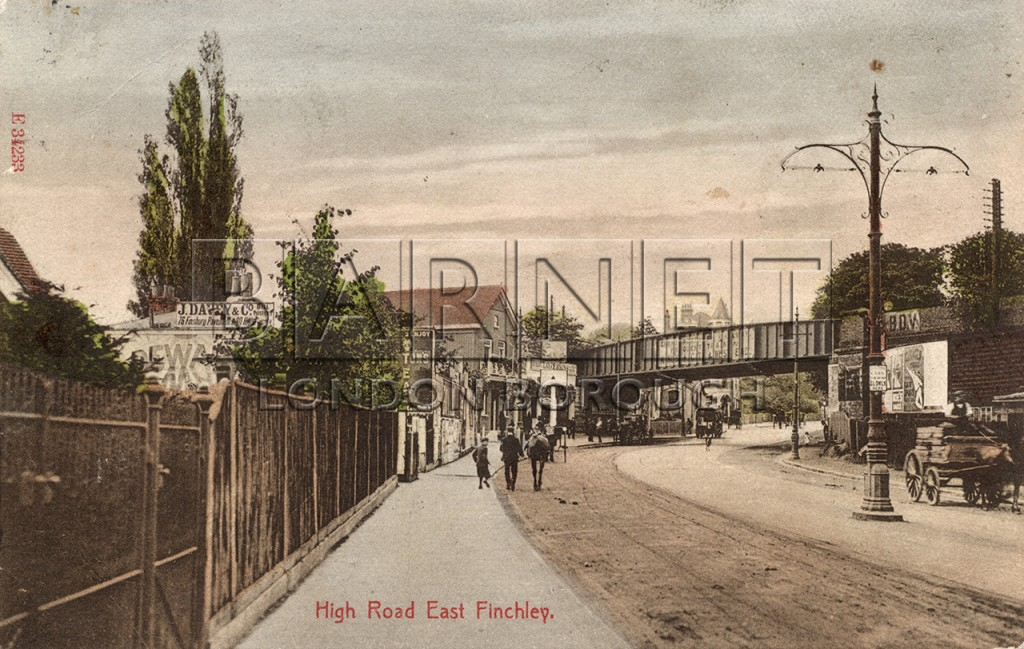 1900 East Finchley Railway Bridge