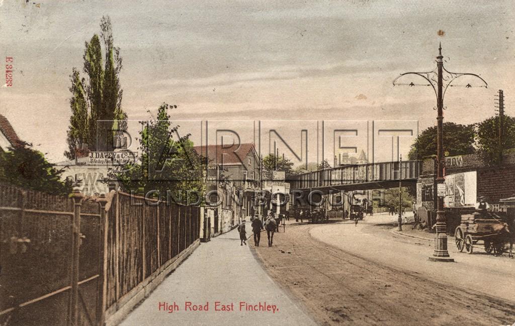 1900 East Finchley Railway Bridge