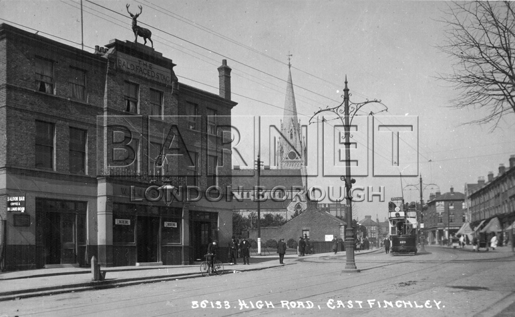1900 Bald Faced Stag public house