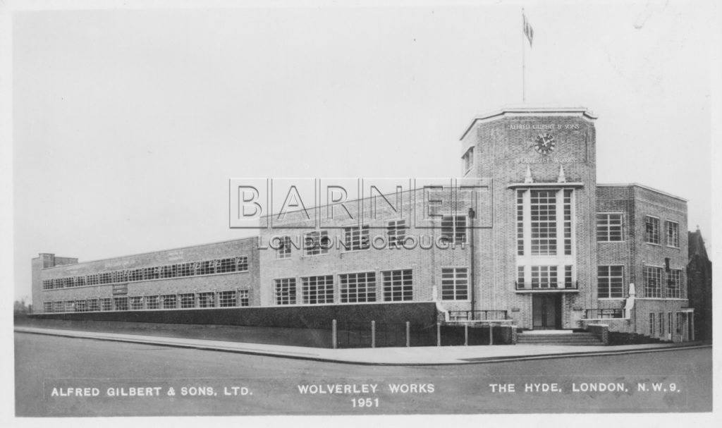 Alfred Gilbert and Son's Ltd. The Wolverley Works