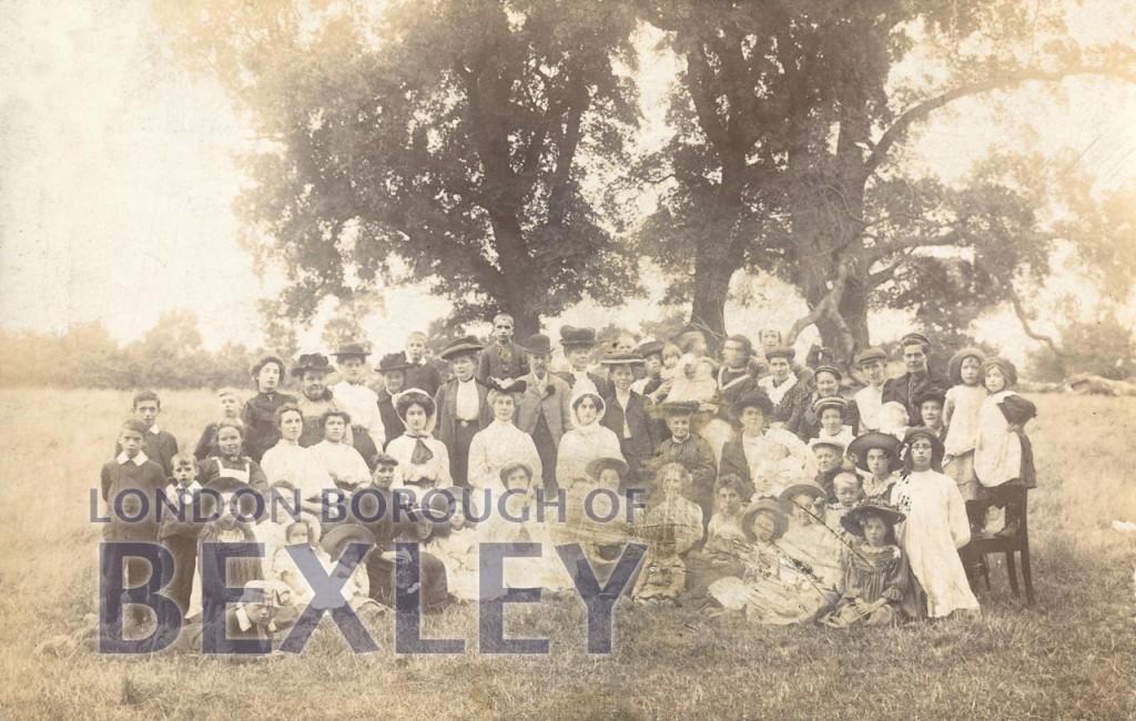 Howbury Grange Farm, Slade Green 1905