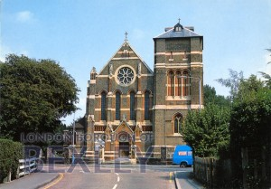 PCD_1381 The Parish Church of St John the Evangelist, Sidcup c.1980