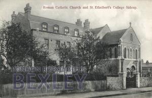 PCD_1458 Roman Catholic Church and St Ethelbert's College, Sidcup c.1910