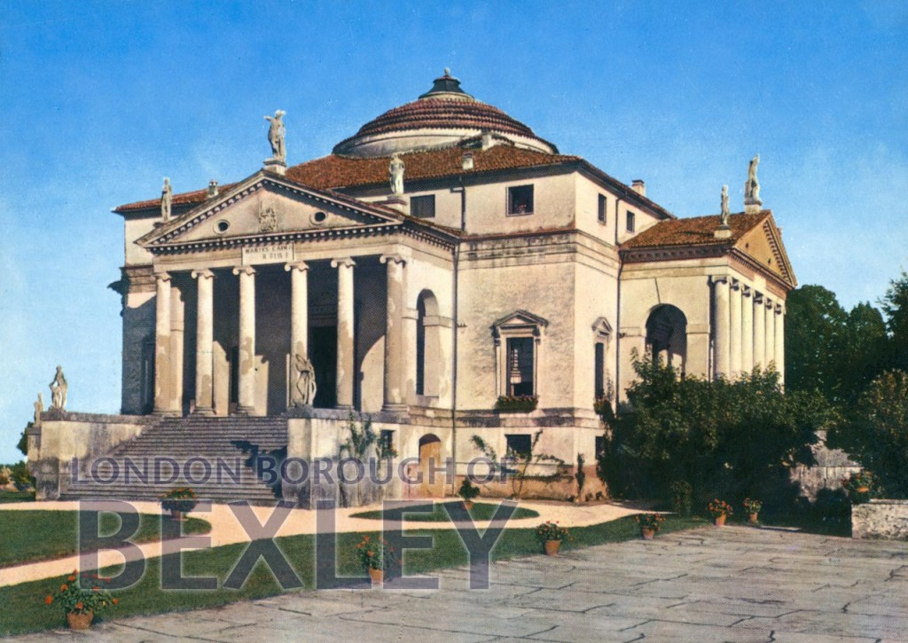 Vicenza – La Rotonda (Palladio 1560) -( Foots Cray Place) c.1980