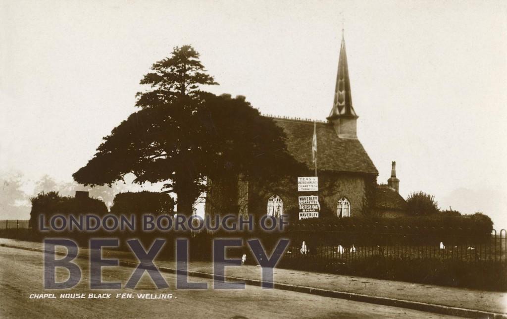 Chapel House, Black Fen, Welling c.1920