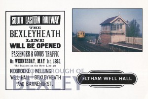 PCD_2217 Eltham Well Hall Station c.1971 1995