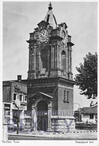 PCD_306 The Clock Tower, Bexleyheath, Kent 1980