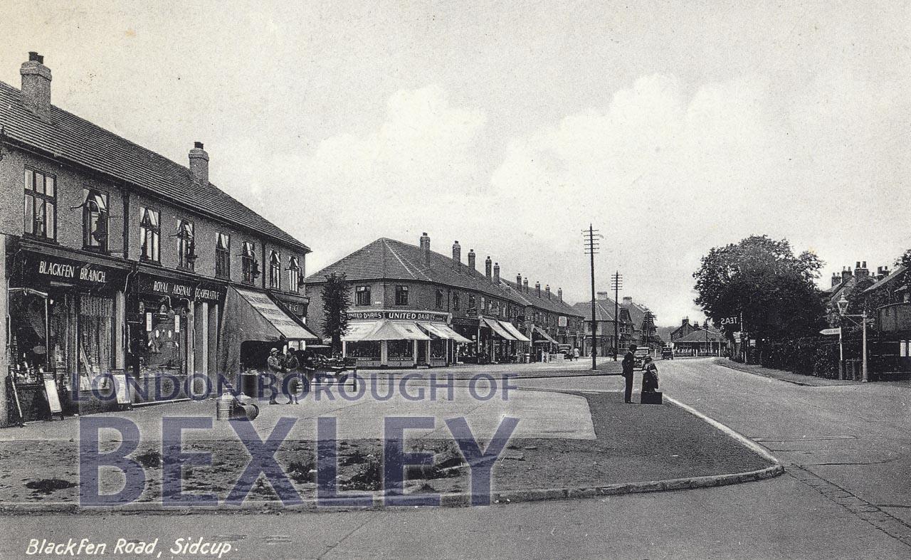 PCD_410 Blackfen Road, Sidcup c.1935 | Bexley Borough ...