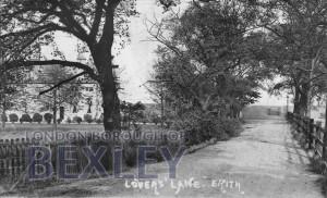 PCD_552 Lovers Lane, Erith c.1900