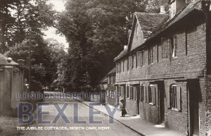 PCD_639 The Jubilee Cottages, North Cray, Kent c.1910