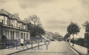 PCD_645 Erith, Bexley Road, Northumberland Heath c.1910