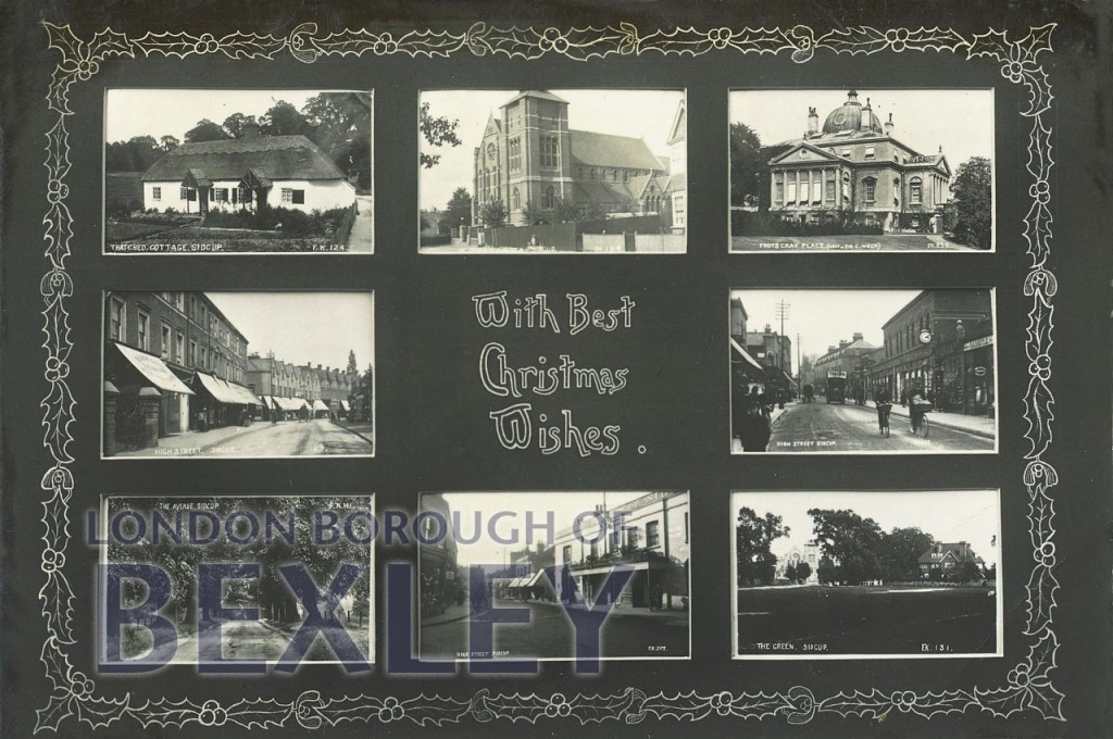 With Best Christmas Wishes (Sidcup) 1913