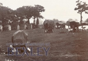 PCD_664 Sidcup – Travellers/Gipsy Site c.1920