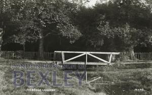 PCD_667 The Bridge, Lamorbey 1905