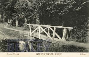 PCD_668 Barons Bridge, Sidcup 1905