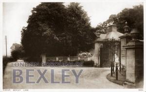 PCD_670 Sidcup, Bexley Lane c.1909