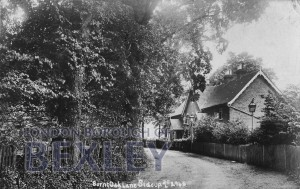 PCD_674 Burnt Oak Lane, Sidcup 1915