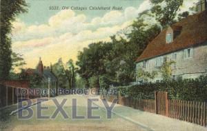 PCD_684 Old Cottages, Chislehurst Road c.1908