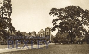 PCD_763 Sidcup, The Green and Church c.1930