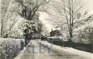 PCD_774 Halfway Street, Sidcup, Winter c.1910