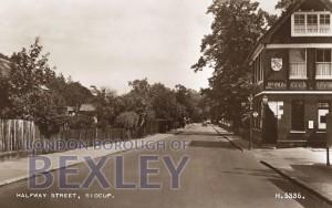 PCD_781 Halfway Street, Sidcup 1953